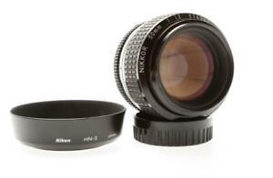 Nikon Nikkor 50mm F/1.2 AIS Lens