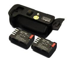 Vertical Pack Grip for Panasonic GH3 GH4 + 2x DMW-BLF19 Battery
