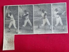 Tony Conigliaro Boston Advertiser 1964 Rookie Photo Sequence (Red Sox Rookie)