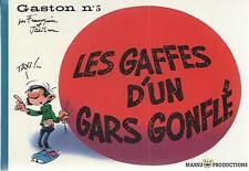 BD  Gaston N°5- Les gaffes d'un gars gonflé  - Ré. Fac similé 2006  - Franquin -