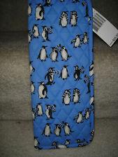 Vera Bradley Curling & Flat Iron Cover Case Playful Penguins Blue Travel