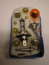 HALOGEN Head Light Lamp Bulb Fuse (15 Piece) Kit fits PROTON H1 H3 H4