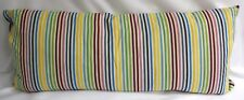 Pine Cone Hill Pillow Rainbow Stripe Double Boudoir Decorative Down Feather