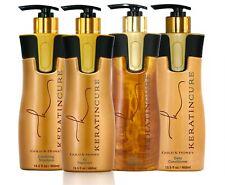Keratin Cure Strong Straightening Hair Treatment Gold & Honey V2 STRONG Kit 15oz