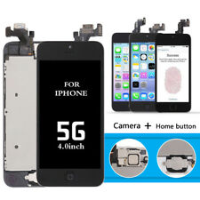 4.0 For iPhone 5 5G Full Complete Touch Screen LCD Digitizer Parts Button Camera