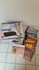Karaoke-Set inkl. 2 Mikrofonen + 6 Karaoke-CD´s (NDW, DeutschRock etc)
