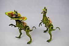 Jurassic Park, dilphosaurus figuras, Vintage, El mundo perdido
