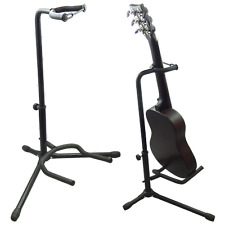 5 Core Floor Guitar Stand Holder Folding Tripod Rack Electric Acoustic Bass GSH