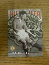 1997 Trade Card: Manchester United - Jack Rowley Highest Ever Goal Scorers Base