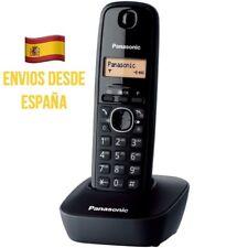 Teléfono Inalámbrico Panasonic KX-TG1611 Color Negro Con Base Gran Alcance