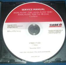 CUSTODIA AXIAL FLOW 7240 8240 9240 TIER 4B COMBINE SERVICE SHOP REPAIR BOOK