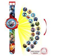 The avengers watch reloj relojes projection proyector kids niños marvel