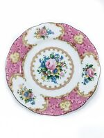 Royal Albert Lady Carlyle bone china bread & butter plates,  NTW