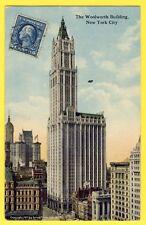 Post card USA NEW YORK CITY Gratte Ciel Plus haute MAISON d'AMÉRIQUE à 55 étages