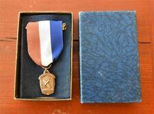 Vintage Monogram Speedee-Bilt Model Airplane Kit Contest 2nd Place Award Medal
