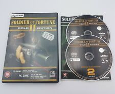Soldier of Fortune II (2): Gold Edition - PC CD-ROM - Free, Fast P&P!