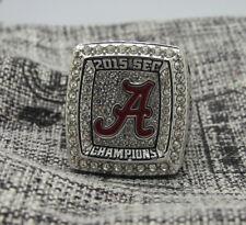 NCAA 2015 Alabama Crimson Tide SEC National Championship Copper Ring 8-14Size