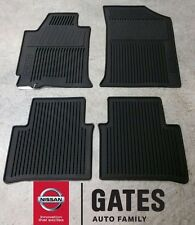 Nissan Altima OEM Rubber All Weather Mats 2008-2012 999E1-UT010BK (Sedan Only)