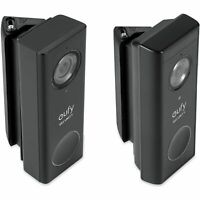 Eufy Security Video Doorbell Wired Battery Wall Plate Horizontal Mount Wedge
