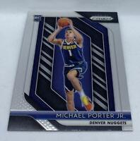2018 Panini Prizm #32 Michael Porter Jr. Rookie Card MT+ Nuggets Base