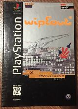 Wipeout Ps1 Longbox Version Playstation Complete Wipe Out