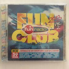 Fun Club 2013 (Volume 2) fun radio  2 cd neuf sous blister