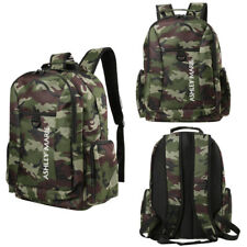 "Nylon Camouflage Waterproof Outdoor Travel School Backpack For 14"" Laptop Bag"