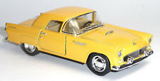 NEU: 1955 Ford Thunderbird gelb 1:36 Oldtimer Sammlermodell von KINSMART Neuware