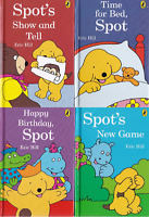 SPOT THE DOG HB STORY BOOKS X 4 FOR CHILDREN: HAPPY BIRTHDAY, TIME FOR BED + 2