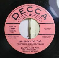 50'S & 60'S Promos 45 Sammy Kaye And His Orchestra - The Glory Of Love / Talk To
