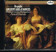 CD album: Ottorino Respighi: ancient airs & dances. Antal Dorati. mercury. C