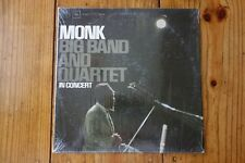 Monk – Big Band And Quartet In Concert COLUMBIA CS 8964 (2 EYE/PARTIAL SHRINK)