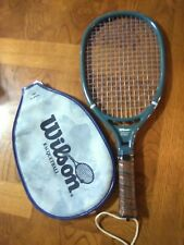Vintage Wilson Speed Flex Racquetball Racquet Made in Usa Leather Grip