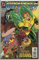 Outsiders 1993 series # 17 near mint comic book