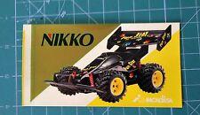 NIKKO PEGATINA NIKKO FUN STAR 13cmx7cm VER FOTO