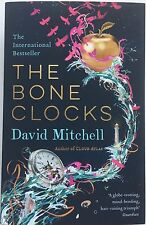 DAVID MITCHELL - THE BONE CLOCKS  HAND SIGNED BOOK  AUTOGRAPHED