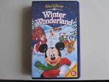 WINTER WONDERLAND - VHS - WALT DISNEY  - (ORIGINAL DISNEY CASE)