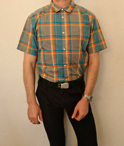 Patagonia Organic Cotton Kurzarm Hemd Shirt Kariert Gr. XL w. NEU