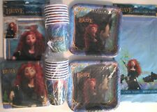 Disney's BRAVE Birthday Party Supply Kit for 16 w/ Treat Bags