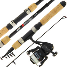 Mini Traveling Fishing Travel Rod & Reel set Onamuzu Carbon + Line Suitcase Size