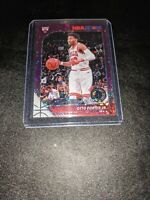 2019-20 NBA Hoops Premium Stock Purple Disco Prizm #28 Otto Porter Jr. Bulls