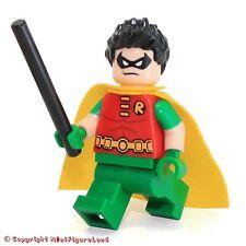 LEGO Super Heroes: Batman II MiniFigure - Robin (Short Sleeves, Spiky Hair)76035