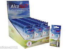 2 x packs  breathalyser alcowatch alcolhol  approved