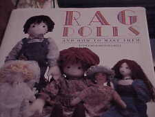 Rag Dolls: And How to Make Them (1994, HB); Dorothea Hall;  Pristine  AP7