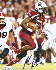 SOUTH CAROLINA GAMECOCKS MARCUS LATTIMORE SIGNED 8X10 PHOTO C W/COA SF 49ERS