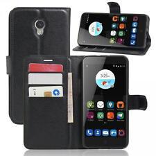 ZTE Blade V7 Phone Case Cover Wallet Flip Magnet Bag Bumper Sleeve Protect Black