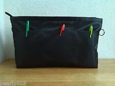Bag Organizer/Bag In Bag/ Water Proof 31cm Bag In Bag (Black) -Actual Item Photo
