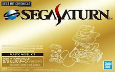 New Sega Saturn Console Plastic Model Kit Best Hit Chronicle Video Game HST-3200