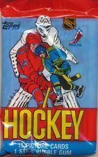 2 PACK LOT 1984/85 TOPPS SEALED HOCKEY