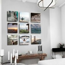 PERSONALISED YOUR PHOTO TILE PHOTOTILE MIXTILE 20 X 20CM THAT STICK TO WALL-UK!